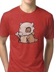 Mini Cubone Tri-blend T-Shirt
