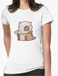 Mini Cubone Womens Fitted T-Shirt