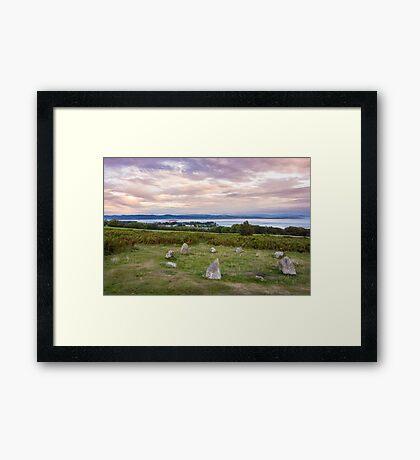 Birkrigg Stone Circle Framed Print