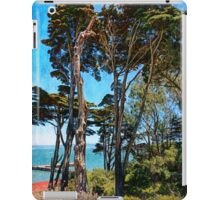 Golden Cypress Trees iPad Case/Skin