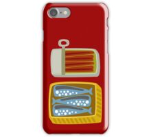 Canned Fish iPhone Case/Skin