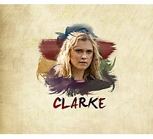 Clarke - The 100 - Brush Photographic Print