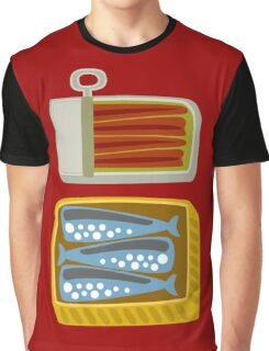Canned Fish Graphic T-Shirt
