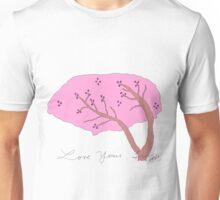 Cherry Blossom in color Unisex T-Shirt