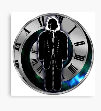 Doctor Who - 1st Doctor - William Hartnell Canvas Print