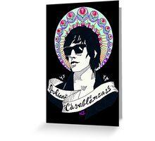 Julian Casablancas Greeting Card