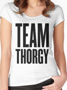 Team Thorgy! Women's Fitted Scoop T-Shirt