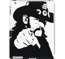 Born to lose, lived to win iPad Case/Skin