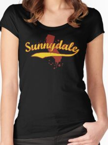 Sunnydale, California Women's Fitted Scoop T-Shirt