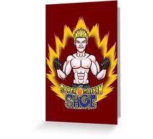 Super Saiyan Sage Greeting Card
