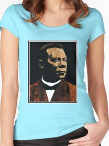 Booker T. Washington 2 Women's Fitted Scoop T-Shirt
