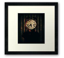 Tic Tock... Framed Print