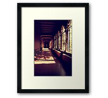 And so my dream began Framed Print