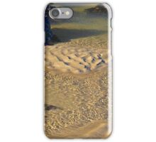 Coastal shapes and patterns iPhone Case/Skin