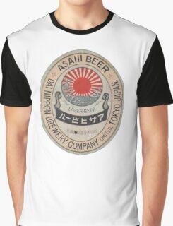 JAPANESE BEER ASAHI Graphic T-Shirt