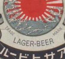 JAPANESE BEER ASAHI Sticker