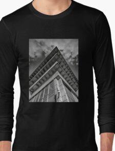 brutalist rooftop Long Sleeve T-Shirt