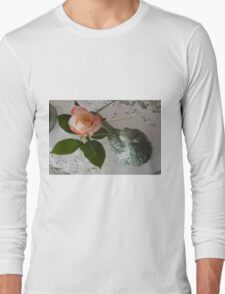 Ladies Nite Rose Long Sleeve T-Shirt