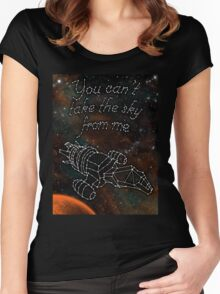 Serenity Stars Women's Fitted Scoop T-Shirt