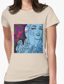 Psychedelic Ascent Womens Fitted T-Shirt