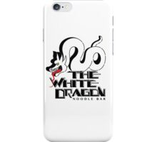 White Dragon - Noodle Bar White iPhone Case/Skin