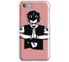 Harry Styles Silhouette Drawing  iPhone Case/Skin