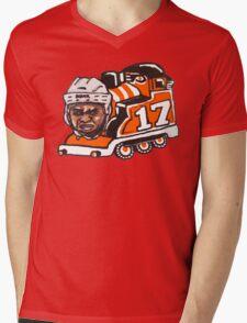 Wayne Train Mens V-Neck T-Shirt