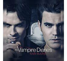The Vampire Diaries Stefan & Damon Photographic Print
