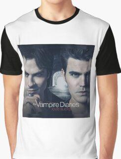 The Vampire Diaries Stefan & Damon Graphic T-Shirt
