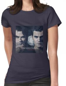 The Vampire Diaries Stefan & Damon Womens Fitted T-Shirt