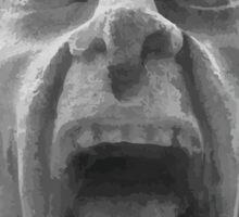 Grotesque Face - Grimace Sticker