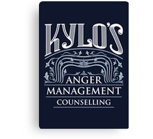 Anger Management Counselling Canvas Print