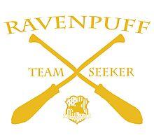 Ravenpuff Seeker in Yellow Photographic Print