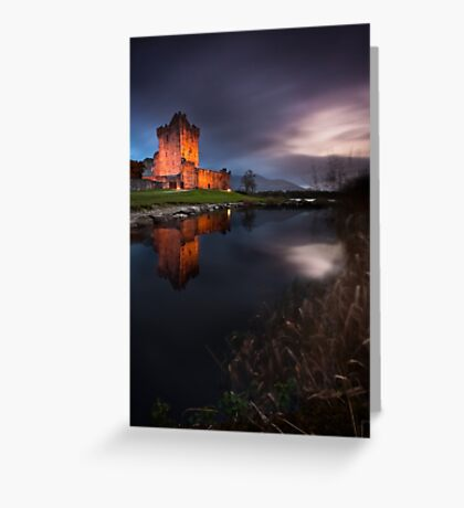 Twilight Ross Castle Greeting Card