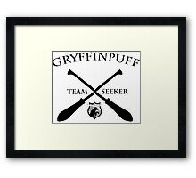 Gryffinpuff Seeker Framed Print