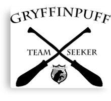 Gryffinpuff Seeker Canvas Print