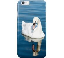 Reflections of a Swan iPhone Case/Skin