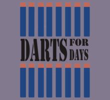 NERF TOY DESIGN- DARTS FOR DAYS! Kids Tee