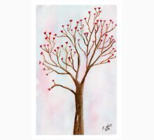 The tree of love. Watercolor painting art. T-Shirt
