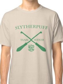 Slytherpuff Team Seeker in Green Classic T-Shirt