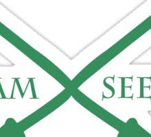 Slytherpuff Team Seeker in Green Sticker