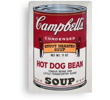 campbell's Canvas Print