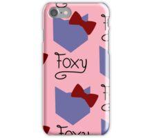 Foxy girl iPhone Case/Skin