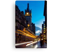 Hope Street, Glasgow Canvas Print