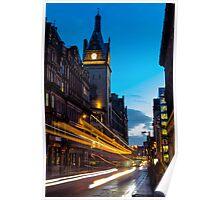 Hope Street, Glasgow Poster