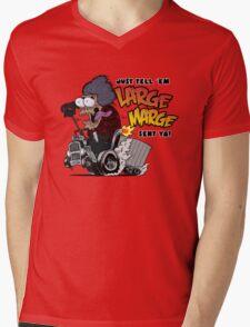 Large Marge Fink Mens V-Neck T-Shirt