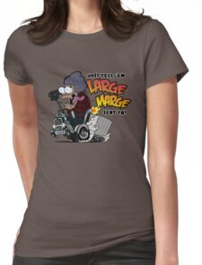 Large Marge Fink Womens Fitted T-Shirt