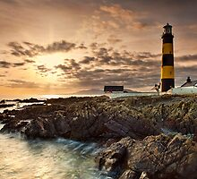 Lighthouse Sunset by Derek Smyth