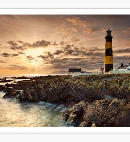 Lighthouse Sunset Sticker