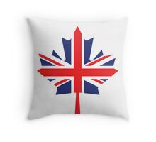 Canada / UK Flag Mix (Request) Throw Pillow